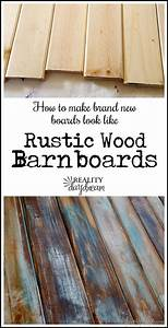 how to make distressed wood barn boards from new wood With best brand of paint for kitchen cabinets with wooden state wall art
