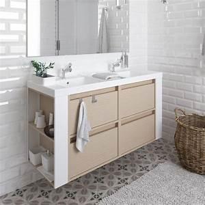 Stand Waschtisch Mit Unterschrank : doppelwaschbecken mit unterschrank wei ~ Bigdaddyawards.com Haus und Dekorationen