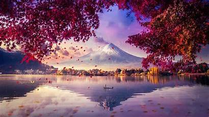 4k Fuji Mount Digital Mesmerising Wallpapers Artwork