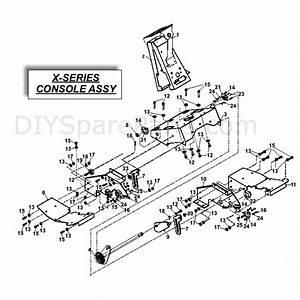 Countax X Series Rider 2010  2010  Parts Diagram  Console