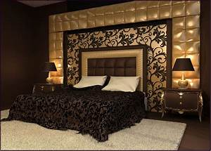 Elegant wall designs to adorn your bedroom walls ritely