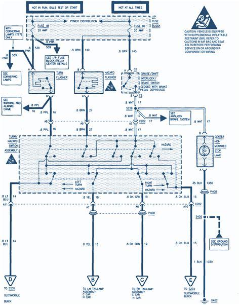 Buick Park Avenue Wiring Diagram Auto Diagrams