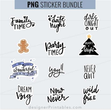 Every february 14, across the world, greeting cards, candy and gifts are exchanged between. Planner Quote Sticker Bundle | Designer Printables
