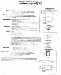 12 Volt Micro Relay Spdt Resistor