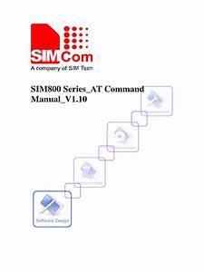 Sim800 Series At Command Manual V1 10