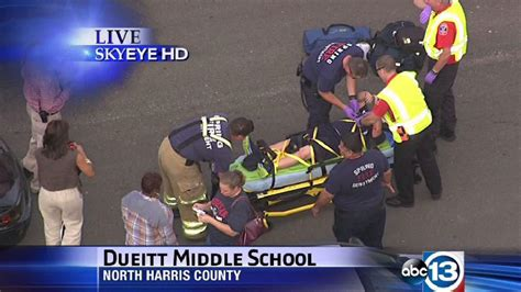 Boy, 11, hit by car outside Spring middle school; expected ...