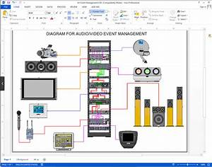 Create Visio Audio  Video  Wiring Diagrams