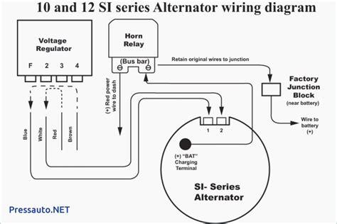 Single Wire Alternator Chevy Voltage Regulator Circuit