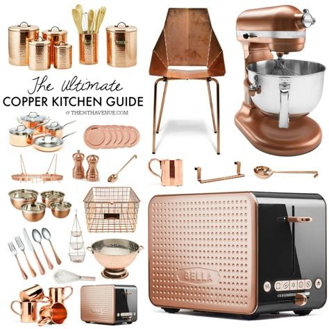 bronze kitchen accessories copper kitchen decor guide the 36th avenue 1815
