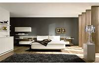 nice contemporary interior design ideas Bedroom. Modern Nice Bedrooms: Gray Wall Paint Wooden ...