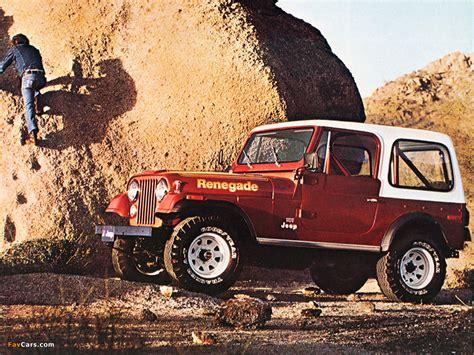 Jeep Cj-7 Renegade 1976–82 Photos (1024x768