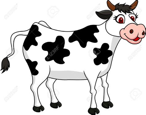 Cattle Clipart Funny Cow Pencil And In Color Cattle