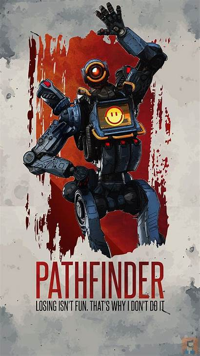Apex Legends Iphone Wallpapers Pathfinder Phone Backgrounds