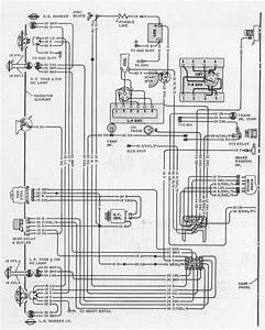 1971 Camaro Engine  U0026 Forward Light Wiring Schematic  61381