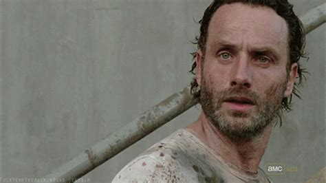 Rick Grimes Crying Meme - the walking dead gifs find share on giphy
