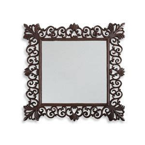 Wrought Iron Bathroom Mirror by Iron Bathroom Mirrors Square Mirror With Cast Iron Frame