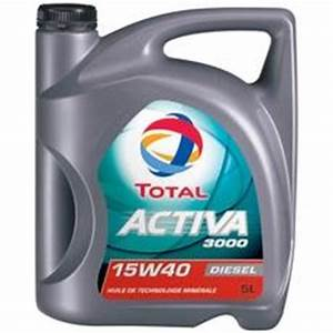 Meilleur Huile Moteur Diesel : huile 15w40 pour moteurs diesel activa 3000 total 5l tous les produits automobile moto ~ Medecine-chirurgie-esthetiques.com Avis de Voitures