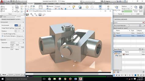 autocad  modeling shaft coupling universal coupling mechanical part autocad  youtube