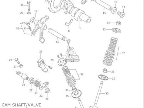 Suzuki Ls650 Parts by Suzuki Ls650 P Savage 1996 2004 Usa Parts List