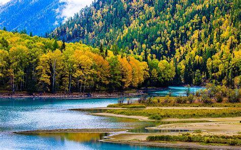 Hd Wallpaper Kanas Lake Xinjiang China Travel Photo Hd