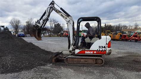 bobcat  excavator youtube