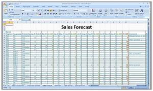 monthly sales report and forecast template for excel With sales projection template free download