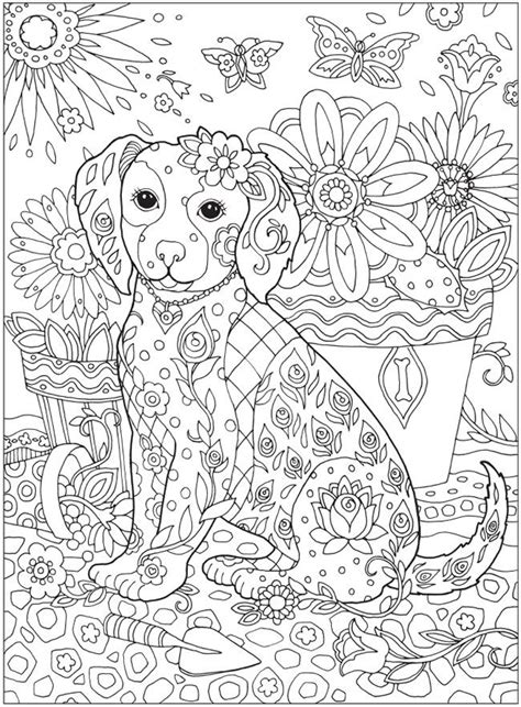 coloring pages  print dogs images