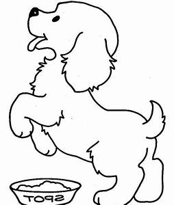 Cute Puppy Coloring Pages For Kids U2019 Free Printable