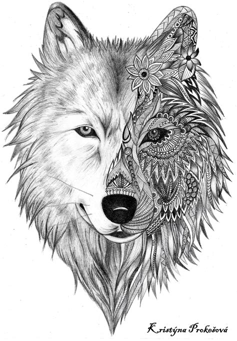 20 MATCHING TATTOO IDEAS FOR SISTERS To Create A Lasting Bond | Wolf tattoos, Mandala and Wolf