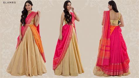 How To Drape A Lehenga - how to drape your saree with a lehenga silk saree hack