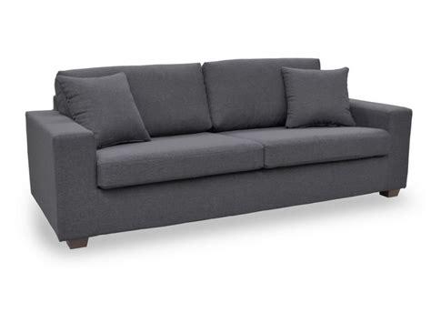 canape fauteuil canapé et fauteuil en tissu gris noir yudo