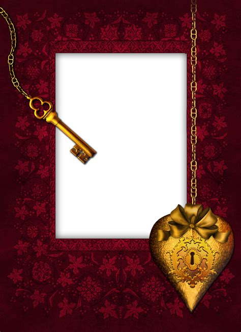 romantic key transparent png photo frame gallery