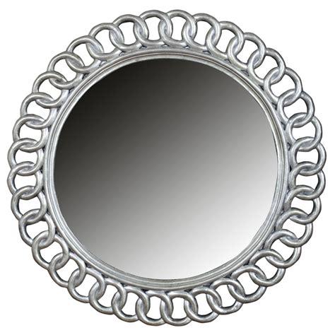 spiegel otsego rund silber