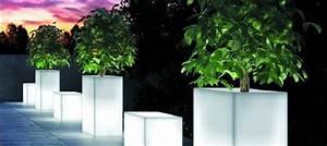 Pot Fleur Lumineux : pot lumineux led sans fil deco lumineuse ~ Nature-et-papiers.com Idées de Décoration