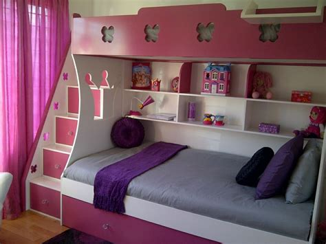 lollypop bunk bed    bed  pull  single