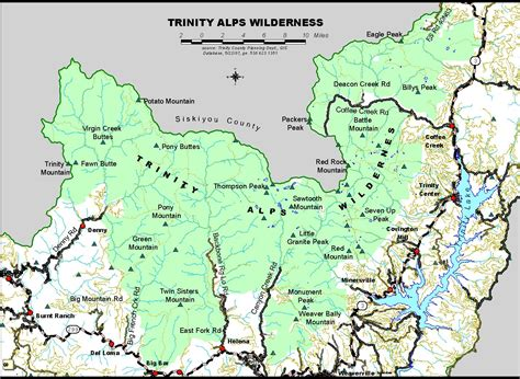 Alpine Boat Basin Trail Map by Weaverville Useful Resources Information And Links