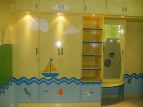 Kids Room Wardrobe Design