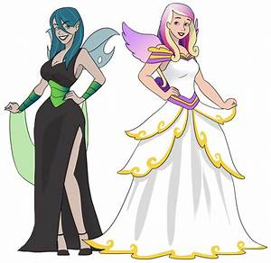 Queen Chrysalis and Princess Cadance as Humans by ...