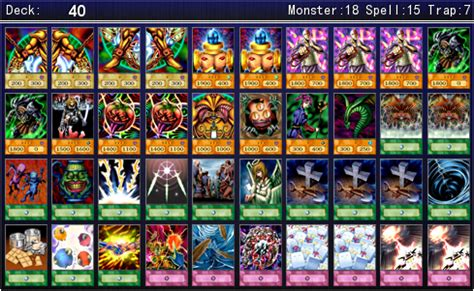 exodia necross deck 2015 gozaburo kaiba character deck for ygopro by