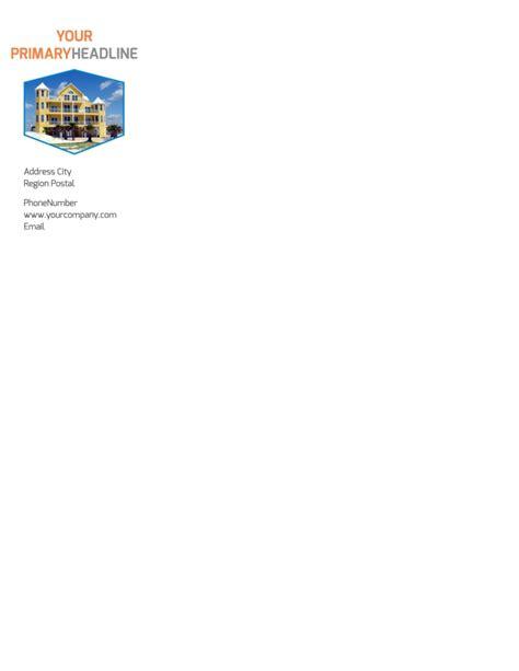 property management letterhead template mycreativeshop