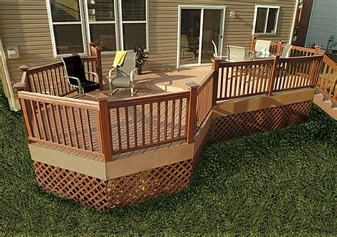 ultimate guide    materials    modern deck