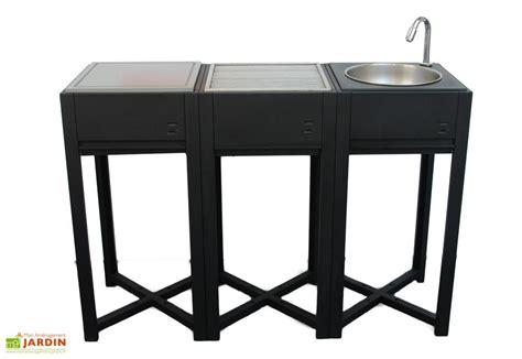 evier cuisine exterieure cuisine d 39 extérieur modules evier bbq bois desserte modules évier charbon de bois