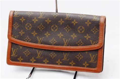 louis vuitton monogram dame authentic vintage purse clutch