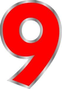 angka warna clip art  clkercom vector clip art  royalty  public domain
