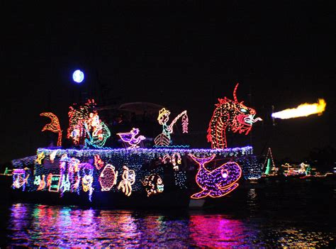 107th annual newport beach christmas boat parade balboa