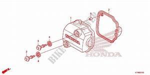 Cylinder Head Cover For Honda Wave 110 Alpha R  Front Disk  Moulded Wheels 2017   Honda