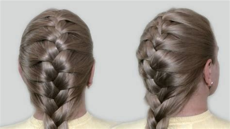 classic french braid   tutorial hairstyles