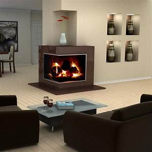 modern-design-idea-for-two-sided-corner-fireplace-living ...