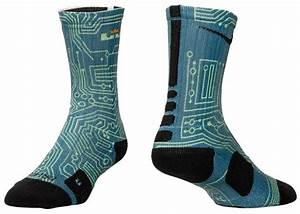 Nike LeBron 12 Trillion Dollar Man Socks | SportFits.com
