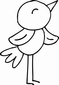 Bird Clipart Black And White | Clipart Panda - Free ...